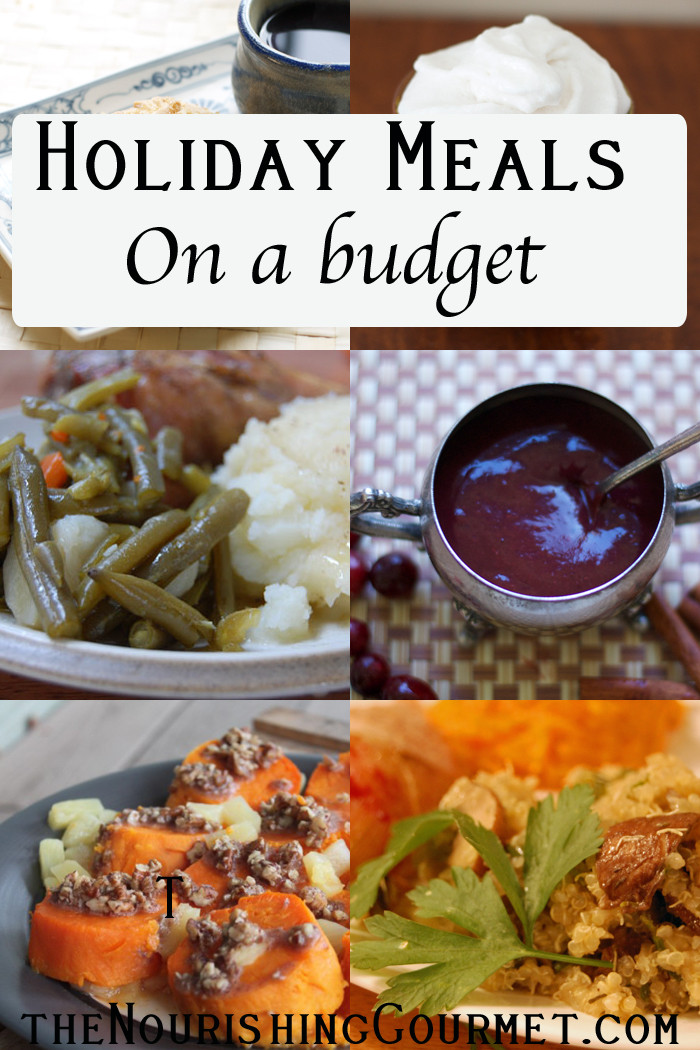 Dinner On A Budget  Holiday Meals on a Bud It Can Be Done