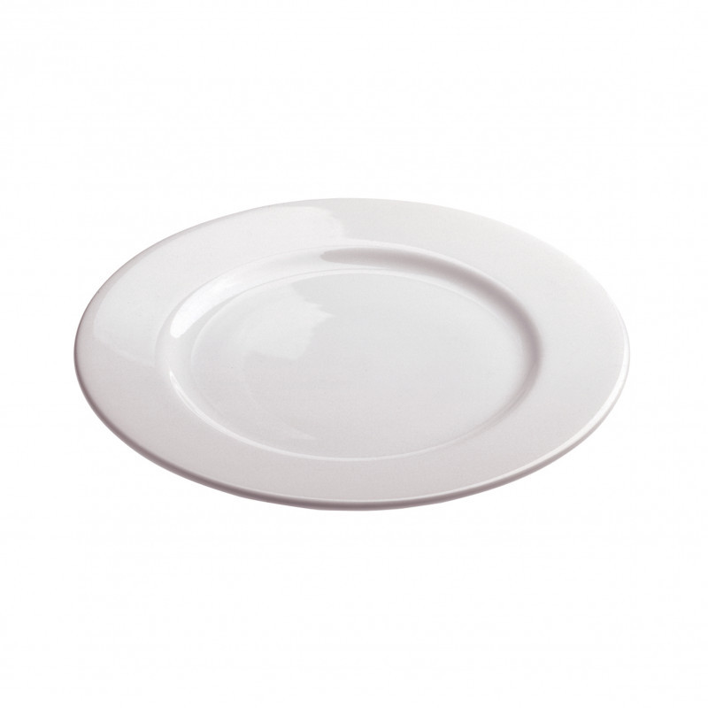 Dinner Plates Sizes  White porcelain dinner plates French Classique
