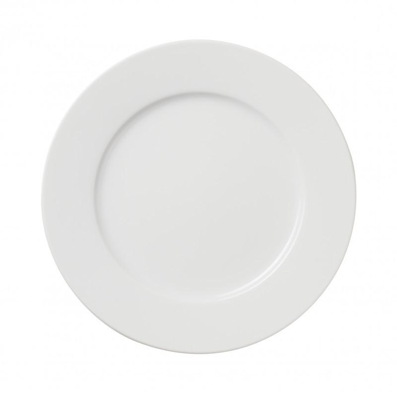 Dinner Plates Sizes  White porcelain dessert plate 3 sizes French classique