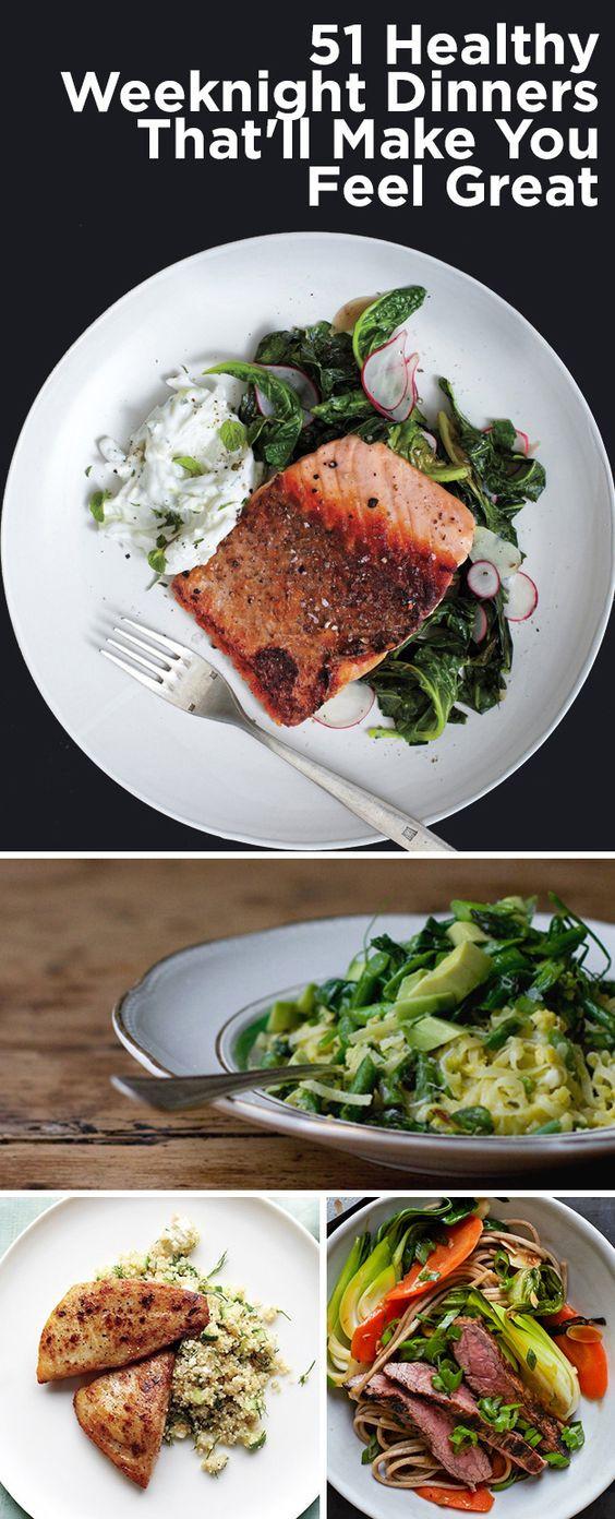 Dinner Recipes Healthy  Healthy weeknight dinners Weeknight dinners and Dinner on