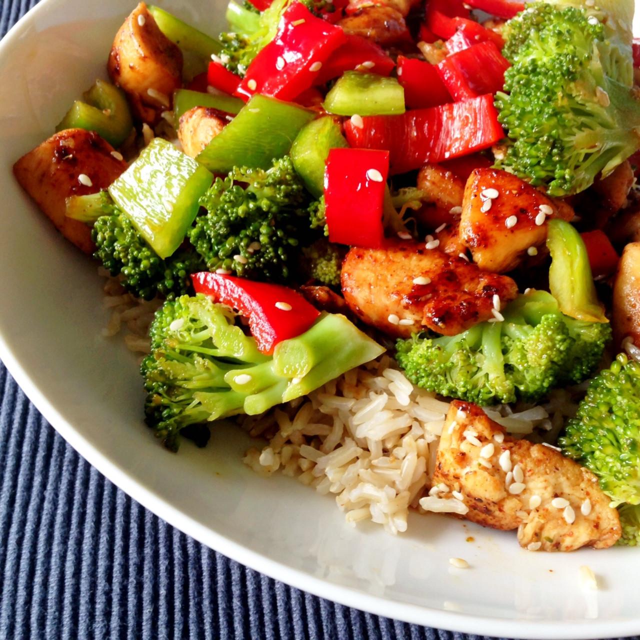 Dinner Recipes Healthy  Healthy Living in Heels Dinner recipe Sesame Chicken