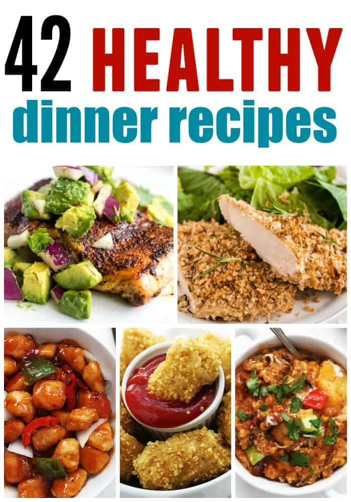 Dinner Recipes Healthy  Healthy Dinner Roundup