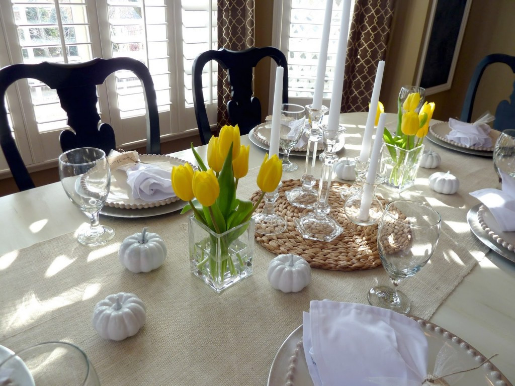 Dinner Table Centerpiece  Top 21 Ideas for the Dining Table Centerpiece Qnud