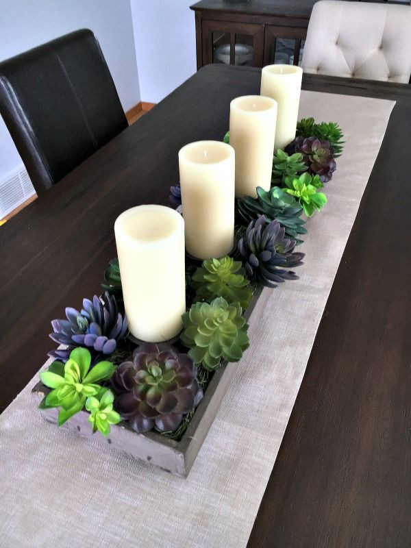 Dinner Table Centerpiece  Amazing Dining Room Table Candle Centerpieces and Best 20
