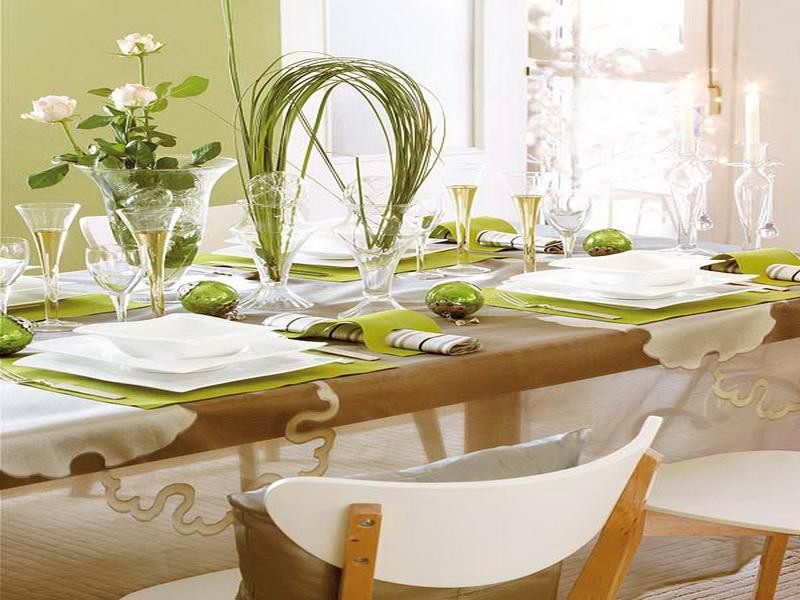 Dinner Table Decorating  Dining Room Top 14 Dining Table Decorations Ideas