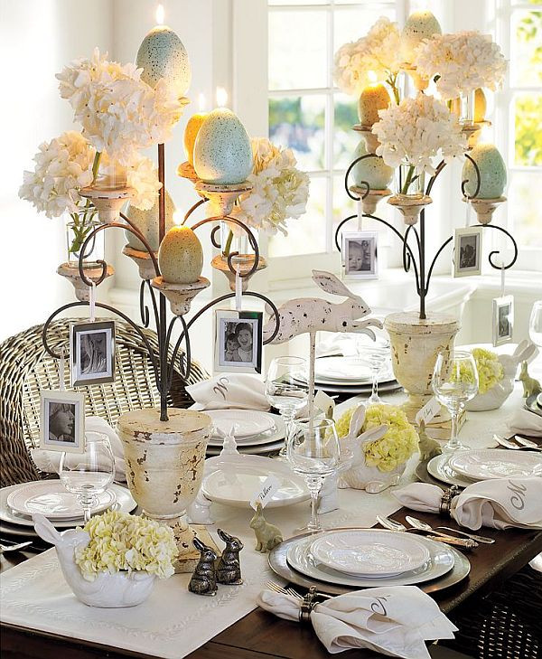 Dinner Table Decorating  15 Dining Table Decoration Samples
