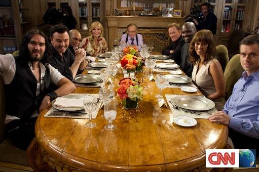 Dinner With The King  PREVIEW CNN International Special Programming Information