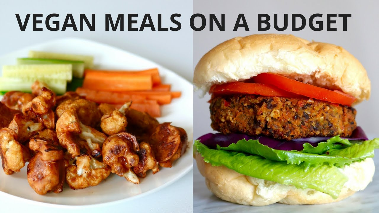Dinners On A Budget  VEGAN MEALS ON A BUDGET UNDER $3