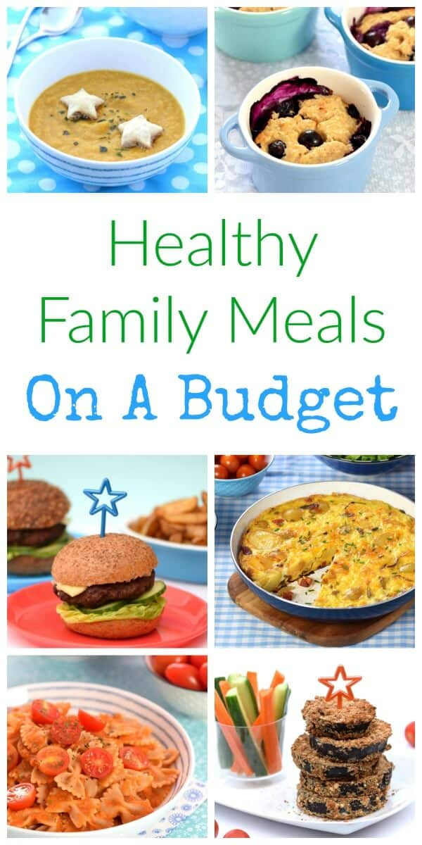 Dinners On A Budget  healthy family meals on a bud