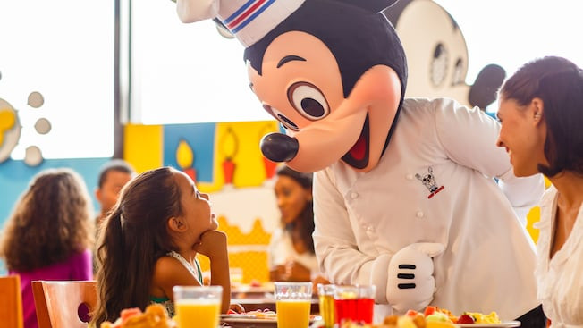 Disney Dinner Reservations  Chef Mickey s