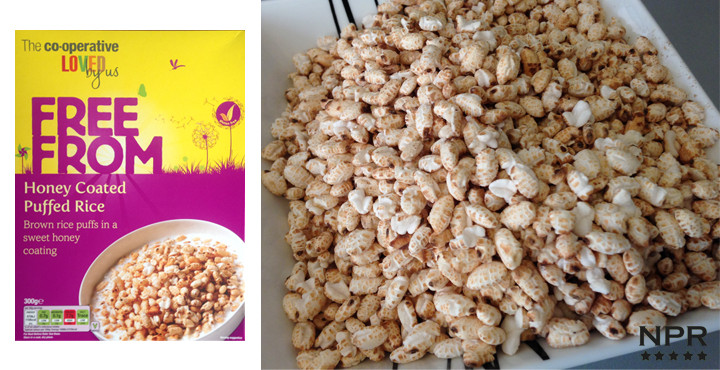 Does Brown Rice Have Gluten  Co op Gluten Free Honey Puffed Rice Review New Product
