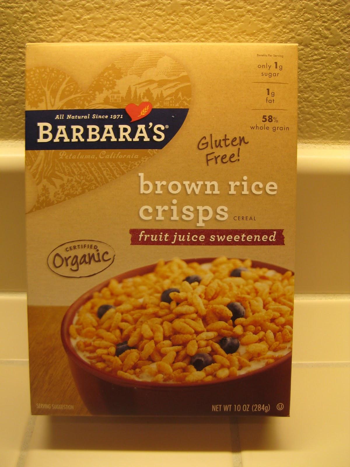Does Brown Rice Have Gluten  Gluten Free Sharing Gluten Free Rice Cereal Treats
