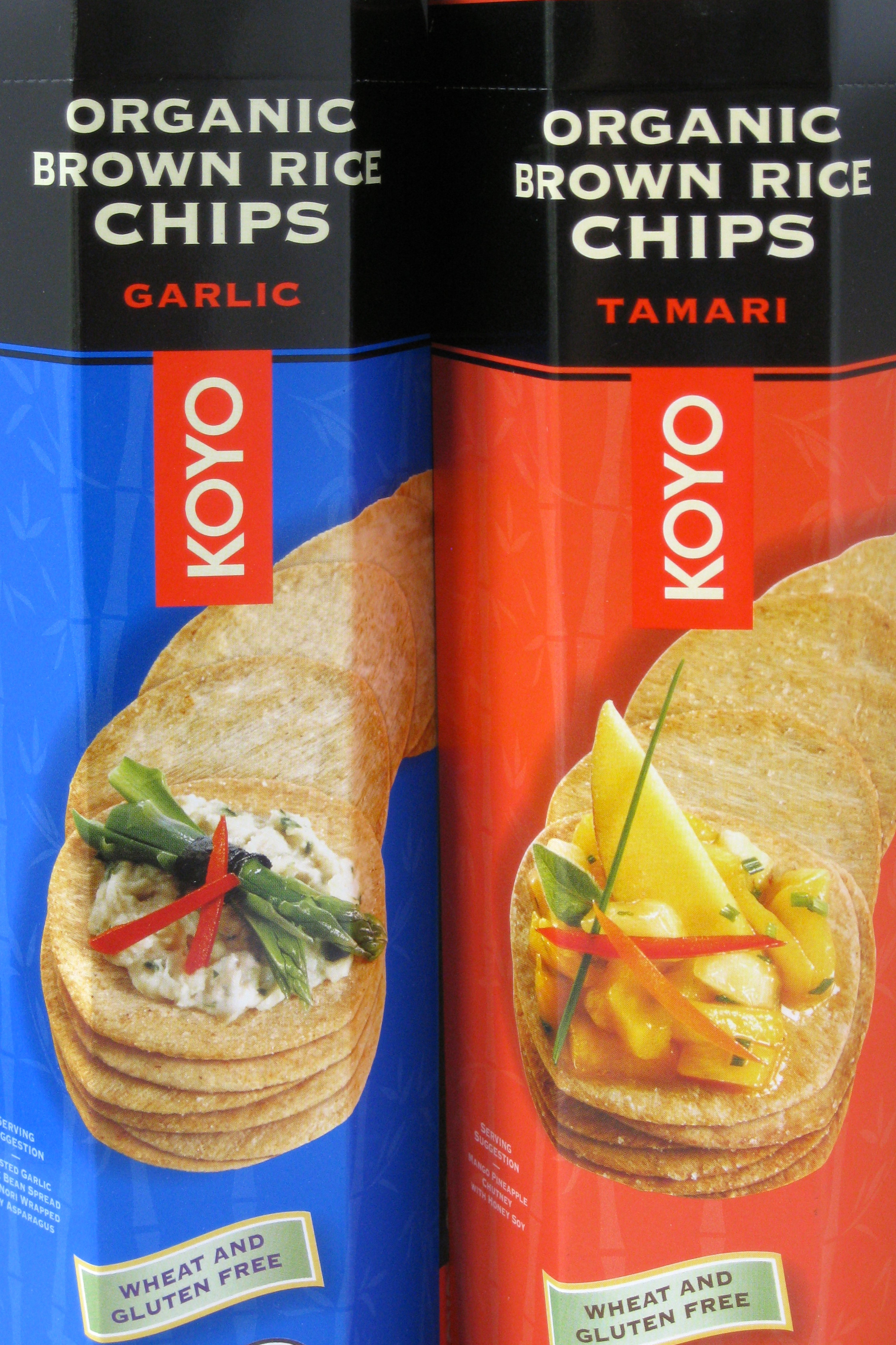 Does Brown Rice Have Gluten  Friday's Find Organic Brown Rice Chips