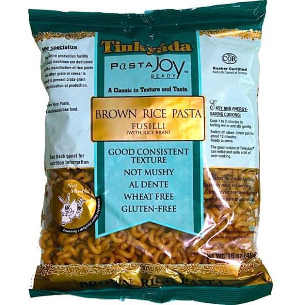 Does Brown Rice Have Gluten  Tinkyada Pasta Brown Rice Fusilli Gluten Free 454g