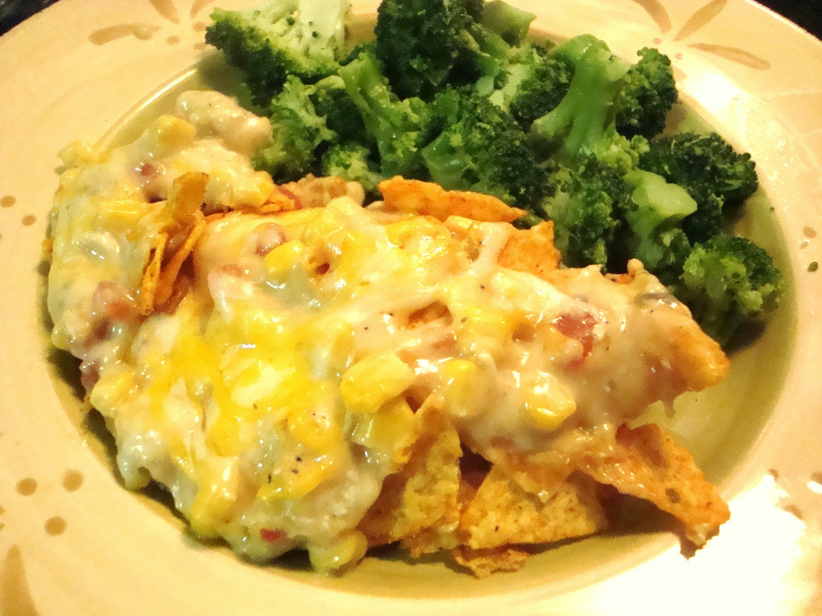 Doritos Chicken Casserole  The Homemaking Fashionista Chicken Dorito Casserole