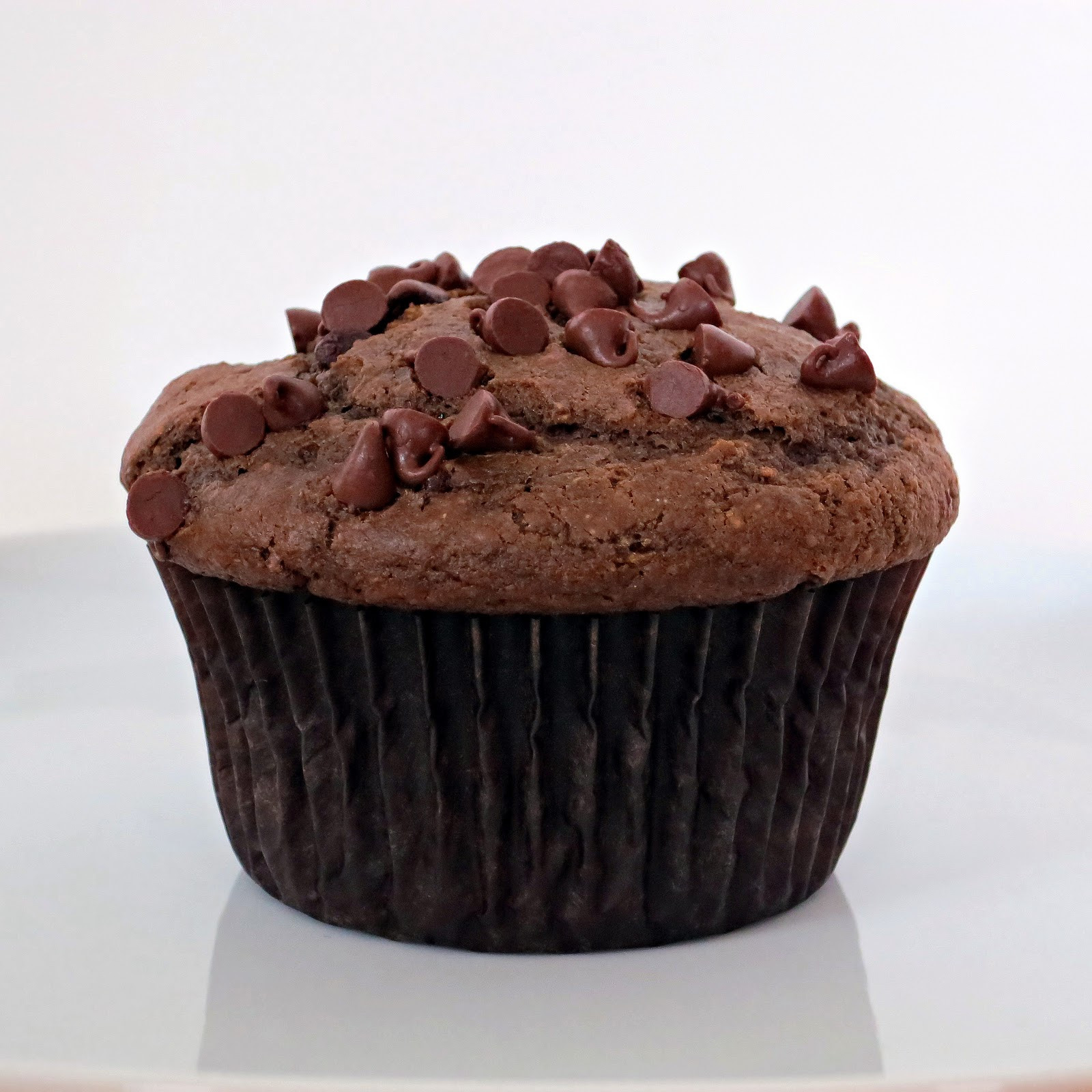 Double Chocolate Chip Muffins  Double Chocolate Chip Muffins Alida s Kitchen