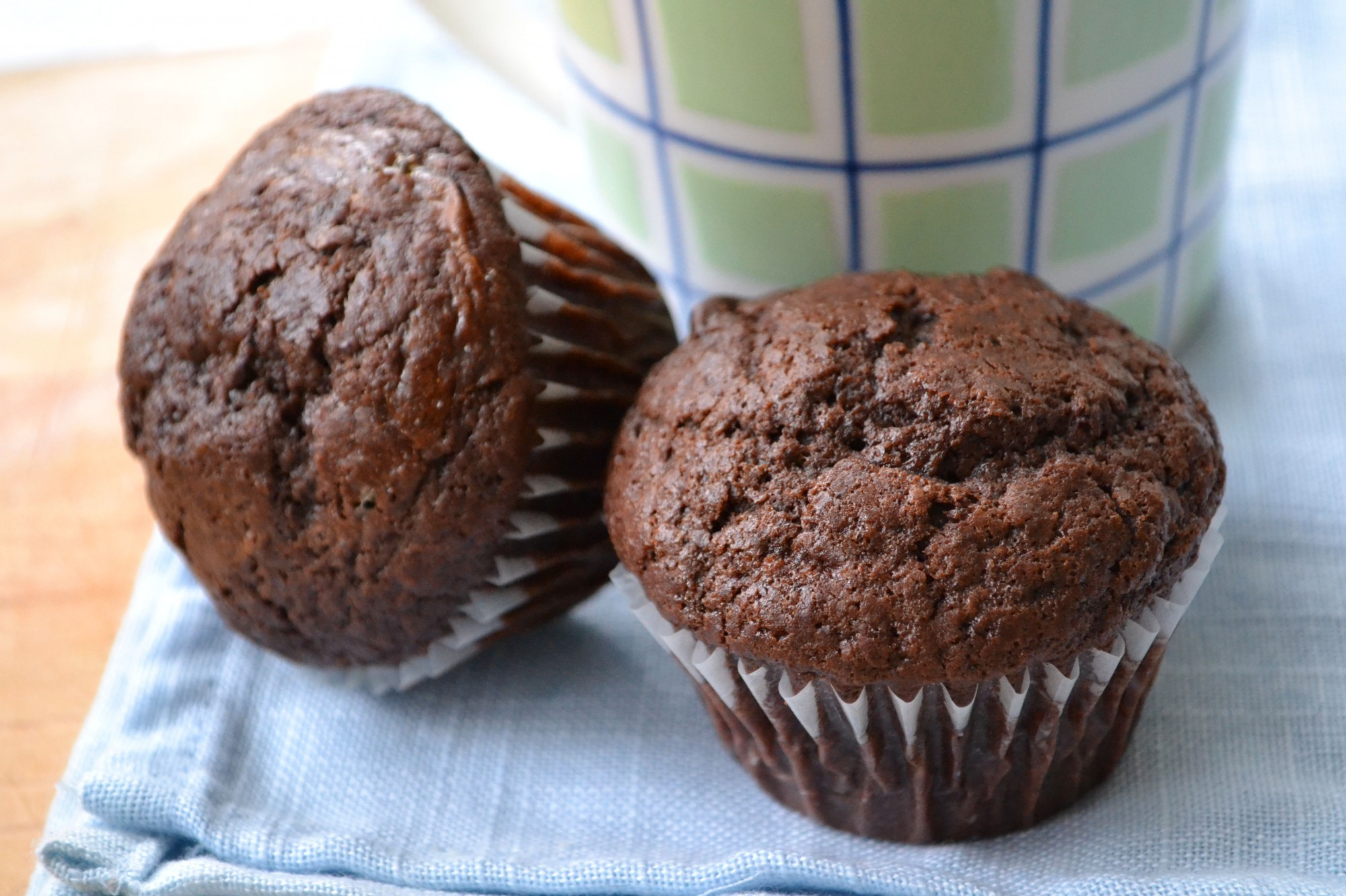 Double Chocolate Chip Muffins  Double Chocolate Chip Muffins Dinner With Julie