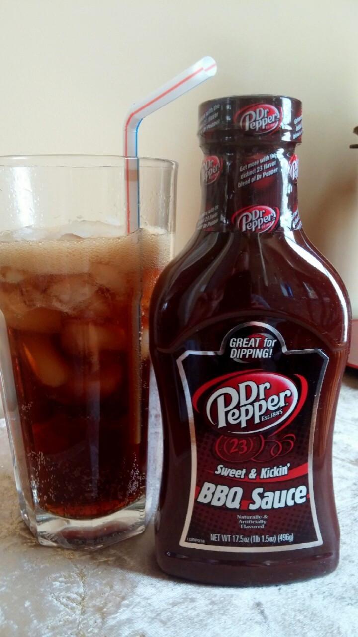Dr Pepper Bbq Sauce  Dr Pepper Sweet & Kickin BBQ Sauce NOT Avaliable will