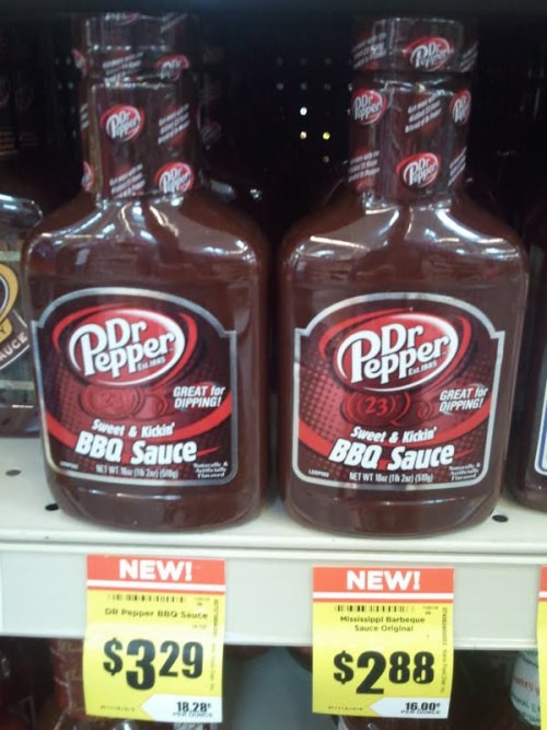Dr Pepper Bbq Sauce  From the state that brought you Dr Pepper beef