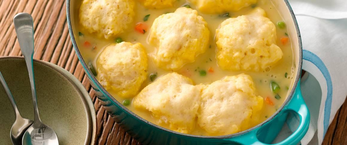 Dumplings With Bisquick  Dumplings recipe from Betty Crocker