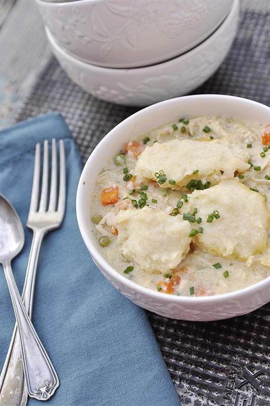 Dumplings With Bisquick  Slow Cooker Bisquick Chicken and Dumplings