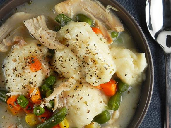 Dumplings With Bisquick  chicken dumpling soup bisquick