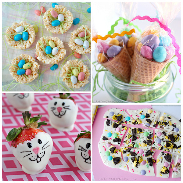 Easter Desserts For Kids  Cute Easter Treat Ideas for Kids Crafty Morning