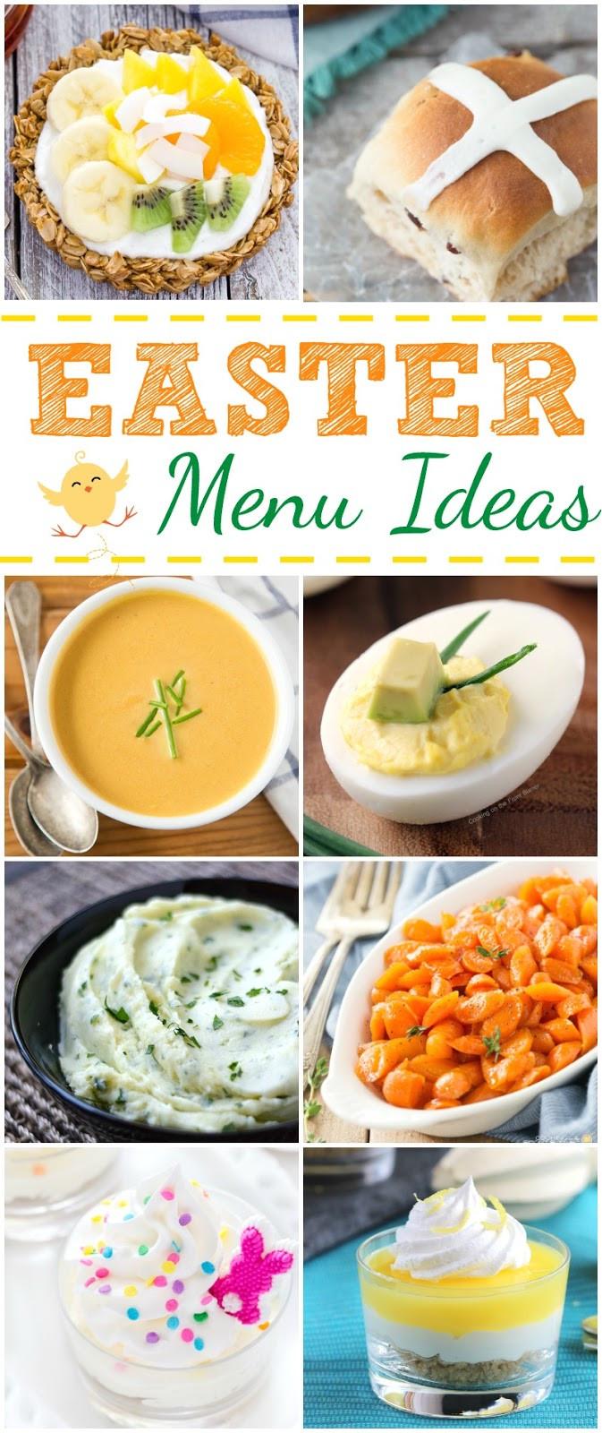 Easter Dinner Menu Ideas  Easter Menu Ideas