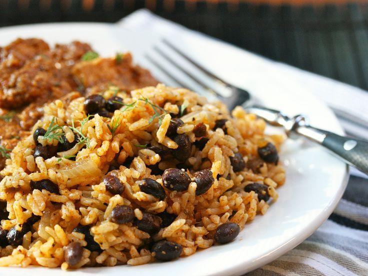 Easy Black Beans And Rice  Easy Black Beans And Rice Recipe — Dishmaps