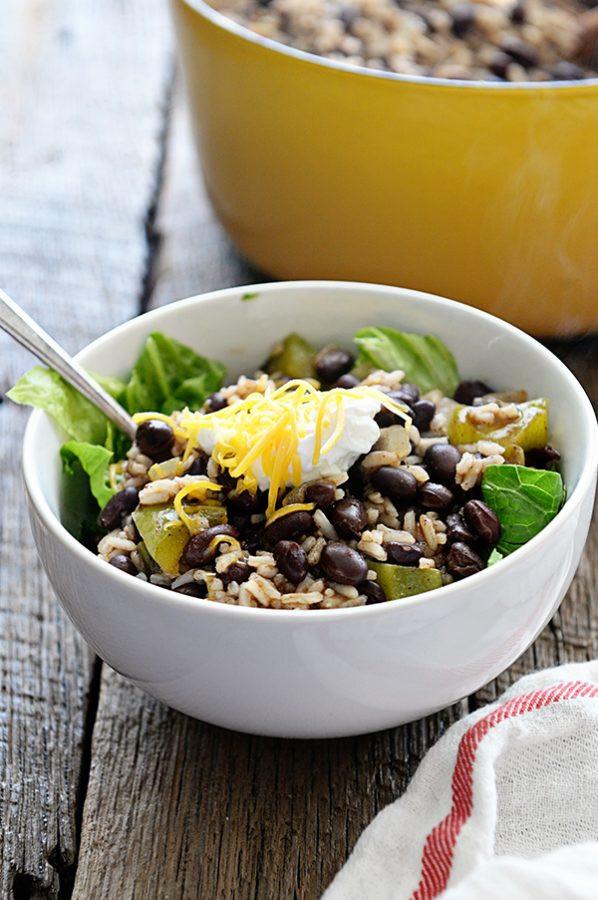 Easy Black Beans And Rice  Easy Black Beans and Rice Recipe Dine and Dish