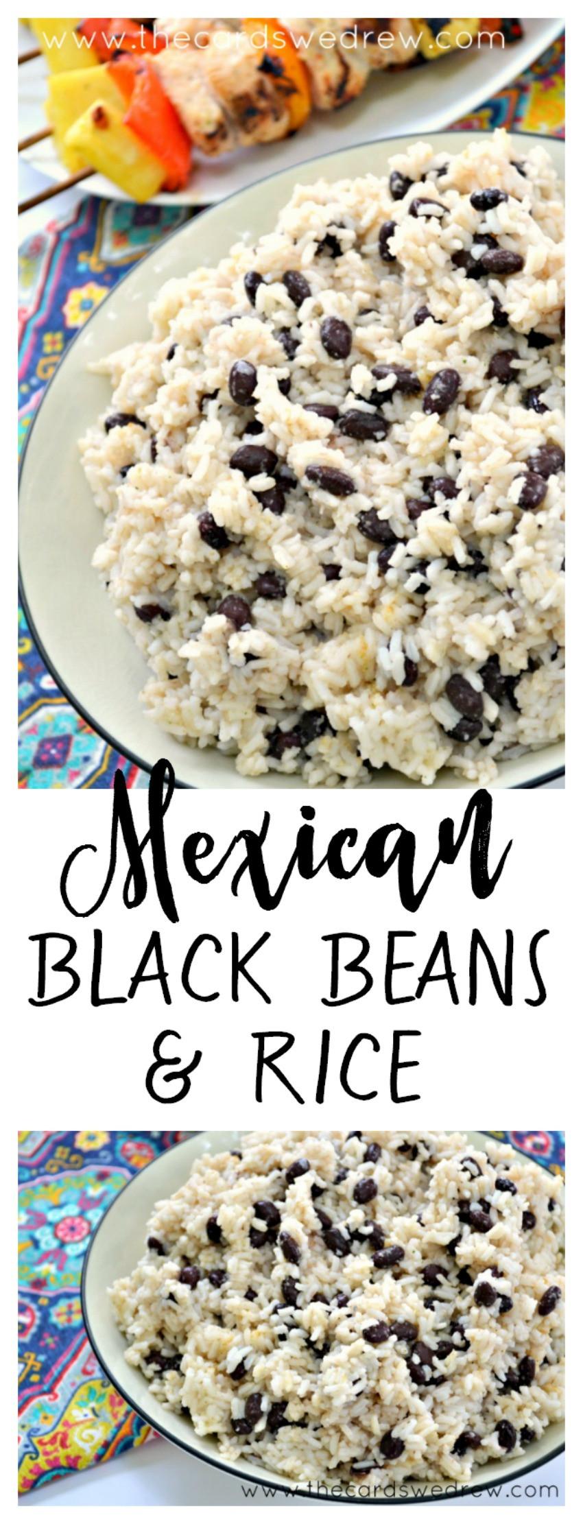 Easy Black Beans And Rice  Easy Black Beans and Rice Recipe