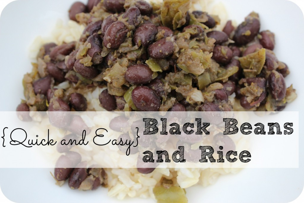 Easy Black Beans And Rice  Quick And Easy Black Beans And Rice Recipe — Dishmaps