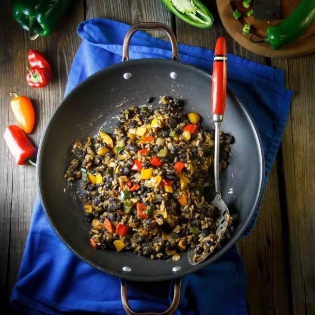 Easy Black Beans And Rice  Easy Black Beans and Rice