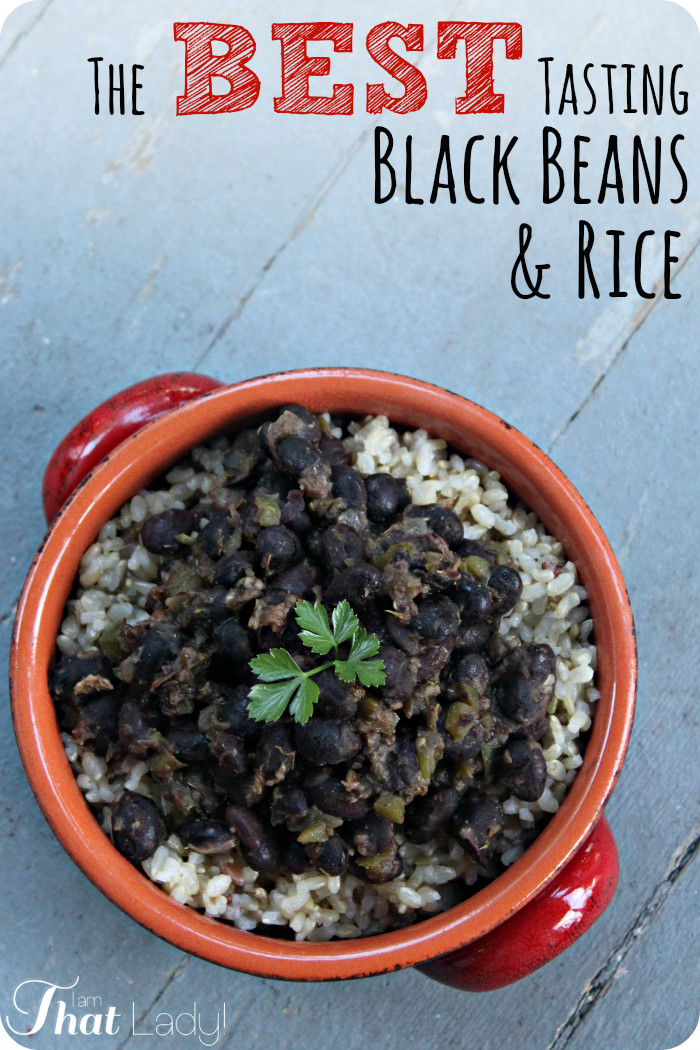Easy Black Beans And Rice  easy rum flavored black beans and rice