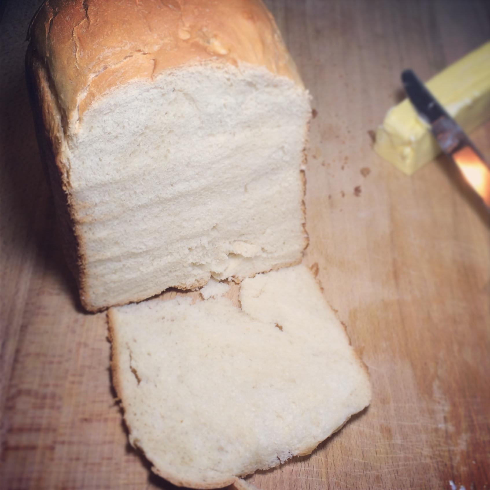 Easy Bread Machine Recipe  Easy White Sandwich Bread Machine Recipe The Working Mom
