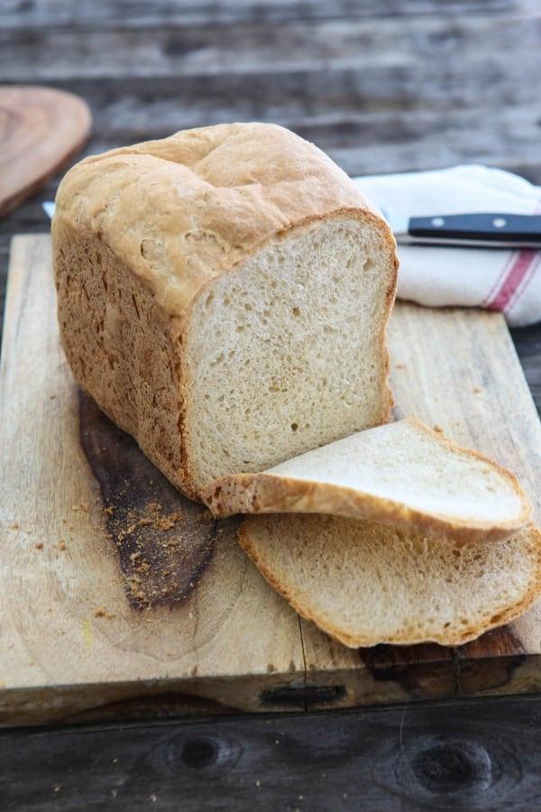Easy Bread Machine Recipe  Eclectic Recipes Easy Basic White Bread Bread Machine