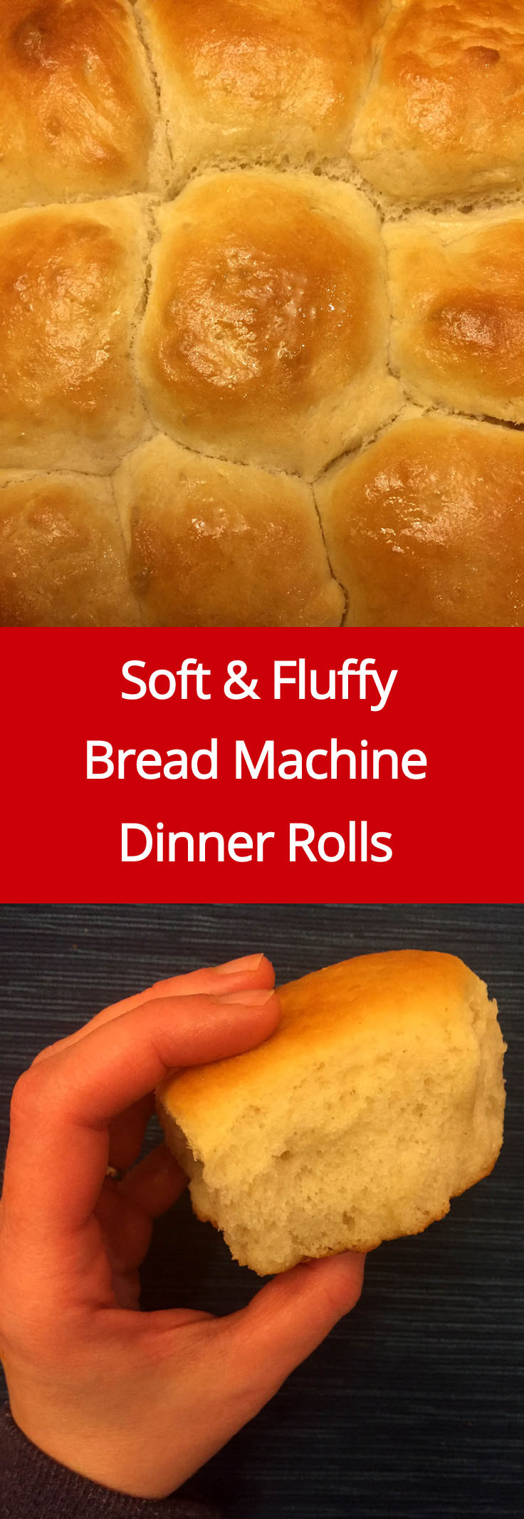 Easy Bread Machine Recipe  Soft Homemade Bread Machine Dinner Rolls Recipe – Melanie