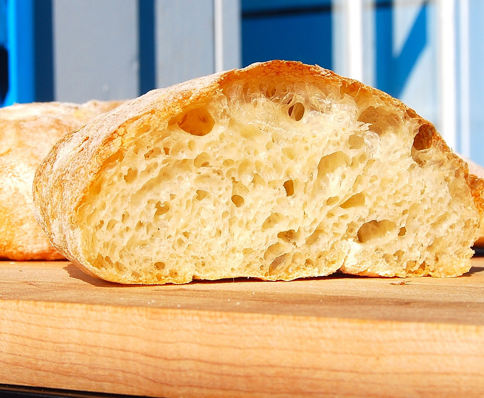 Easy Bread Recipe  Quick Ciabatta