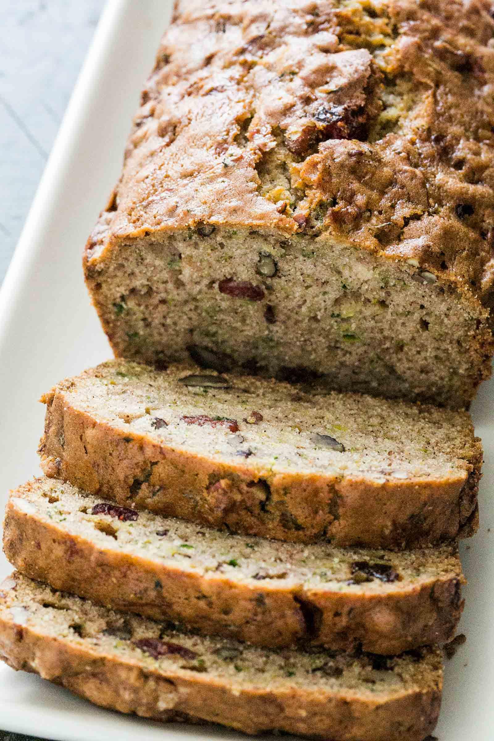 Easy Bread Recipe  Zucchini Bread Recipe
