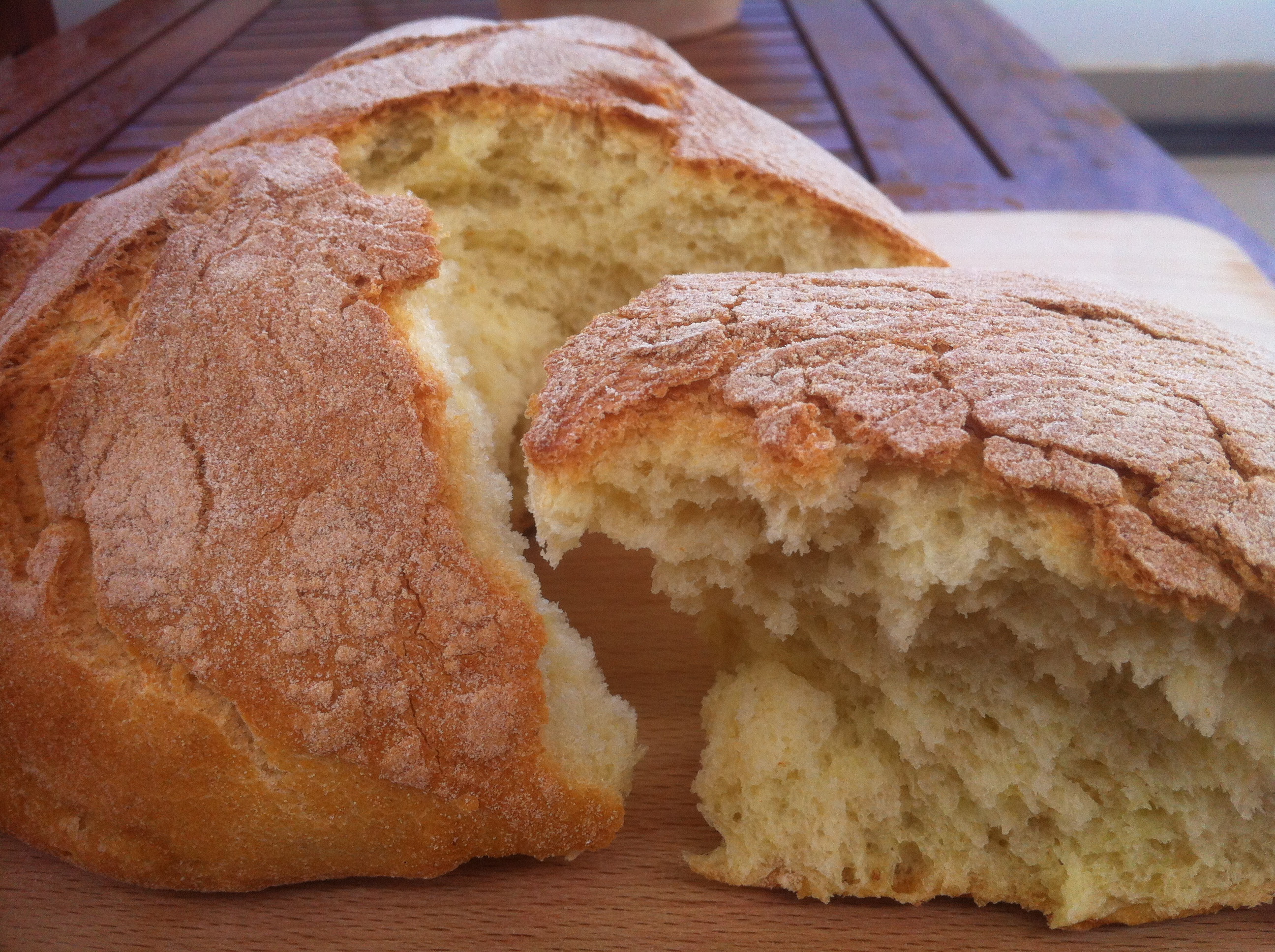 Easy Bread Recipe  Easy bread recipe for beginners My Greek Dish