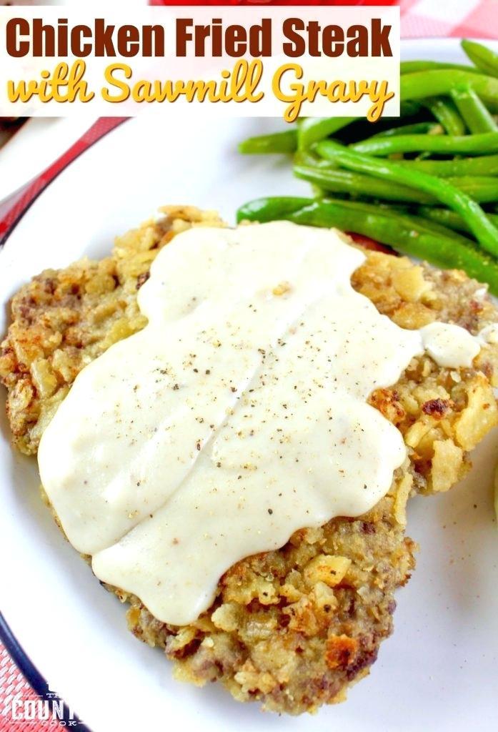 Easy Chicken Fried Steak  Chicken Fried Steak Recipe Paula Deen Chicken Fried Steak