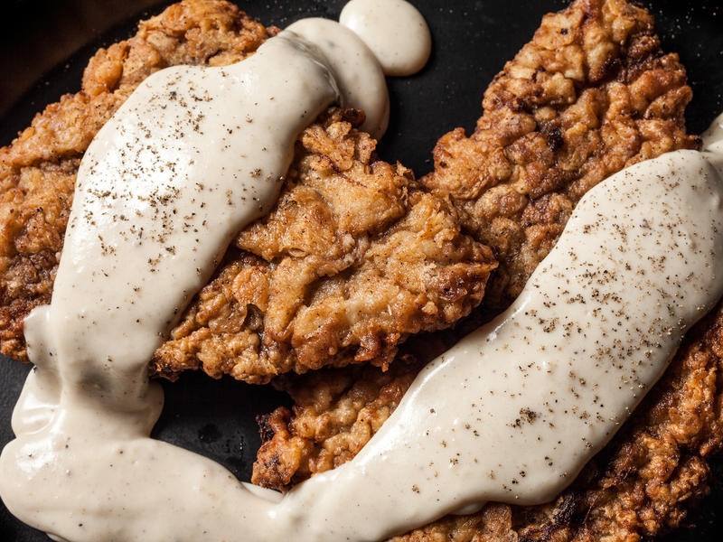 Easy Chicken Fried Steak  simple chicken fried steak