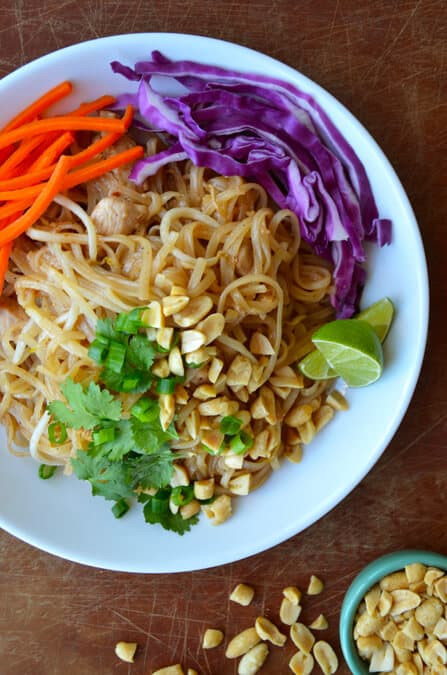 Easy Chicken Pad Thai Recipe  All topics around life pad thai recipe