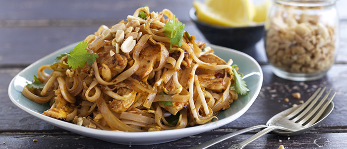 Easy Chicken Pad Thai Recipe  Quick and Easy Chicken Pad Thai