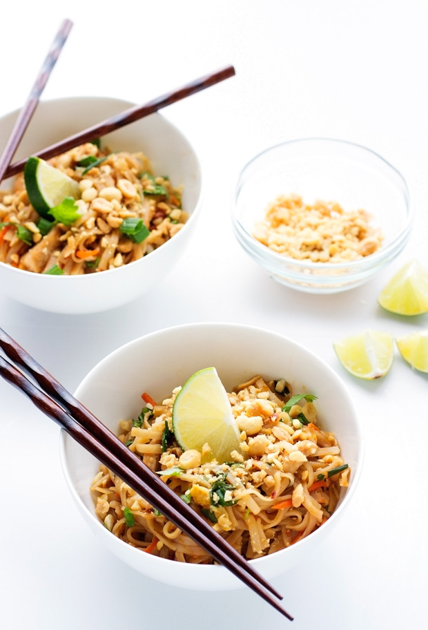 Easy Chicken Pad Thai Recipe  Easy Chicken Pad Thai Recipe