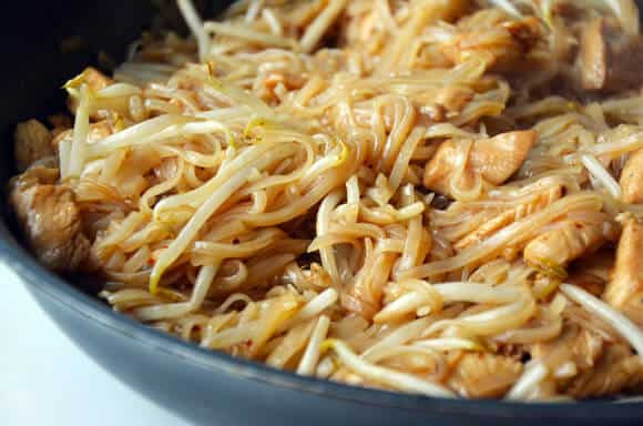 Easy Chicken Pad Thai Recipe  Easy Pad Thai with Chicken