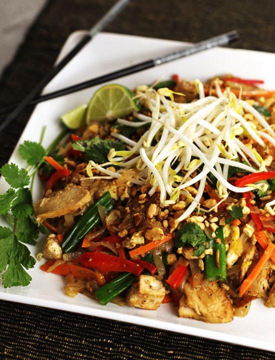 Easy Chicken Pad Thai Recipe  How to Make Chicken Pad Thai