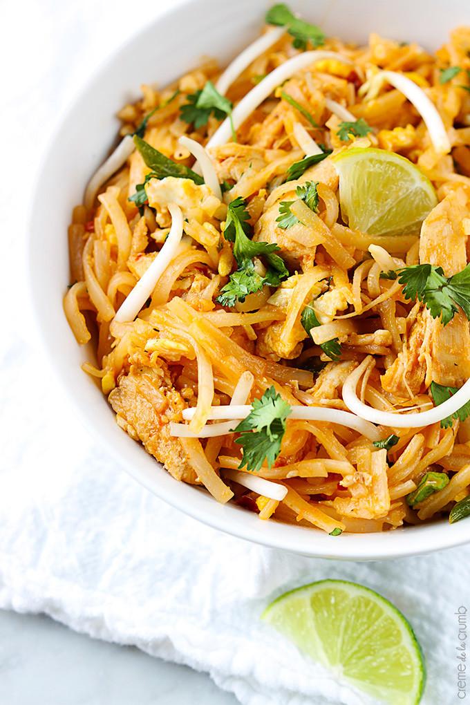Easy Chicken Pad Thai Recipe  quick and easy pad thai sauce
