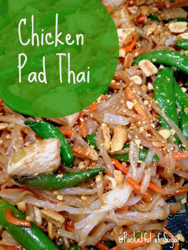 Easy Chicken Pad Thai Recipe  Chicken Pad Thai Our Growing Edge Challenge
