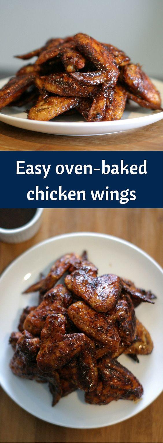 Easy Chicken Wings Recipe  Easy Oven baked Chicken Wings Recipe